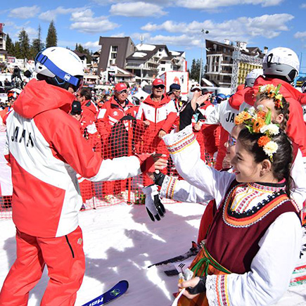 A lavish show jump starts Interski congress 2019 in Pamporovo